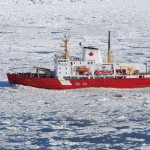 The research icebreaker CCGS Amundsen.