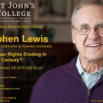 Stephen Lewis lecture on Feb. 28, 2017.