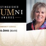 Tina Jones: 2018 Distinguished Alumni Award Recipient for Community Service
